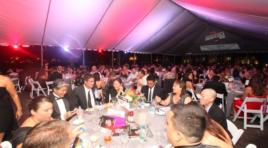 The Fourth Annual Pacific Edge Magazine Business Achievement Awards Gala